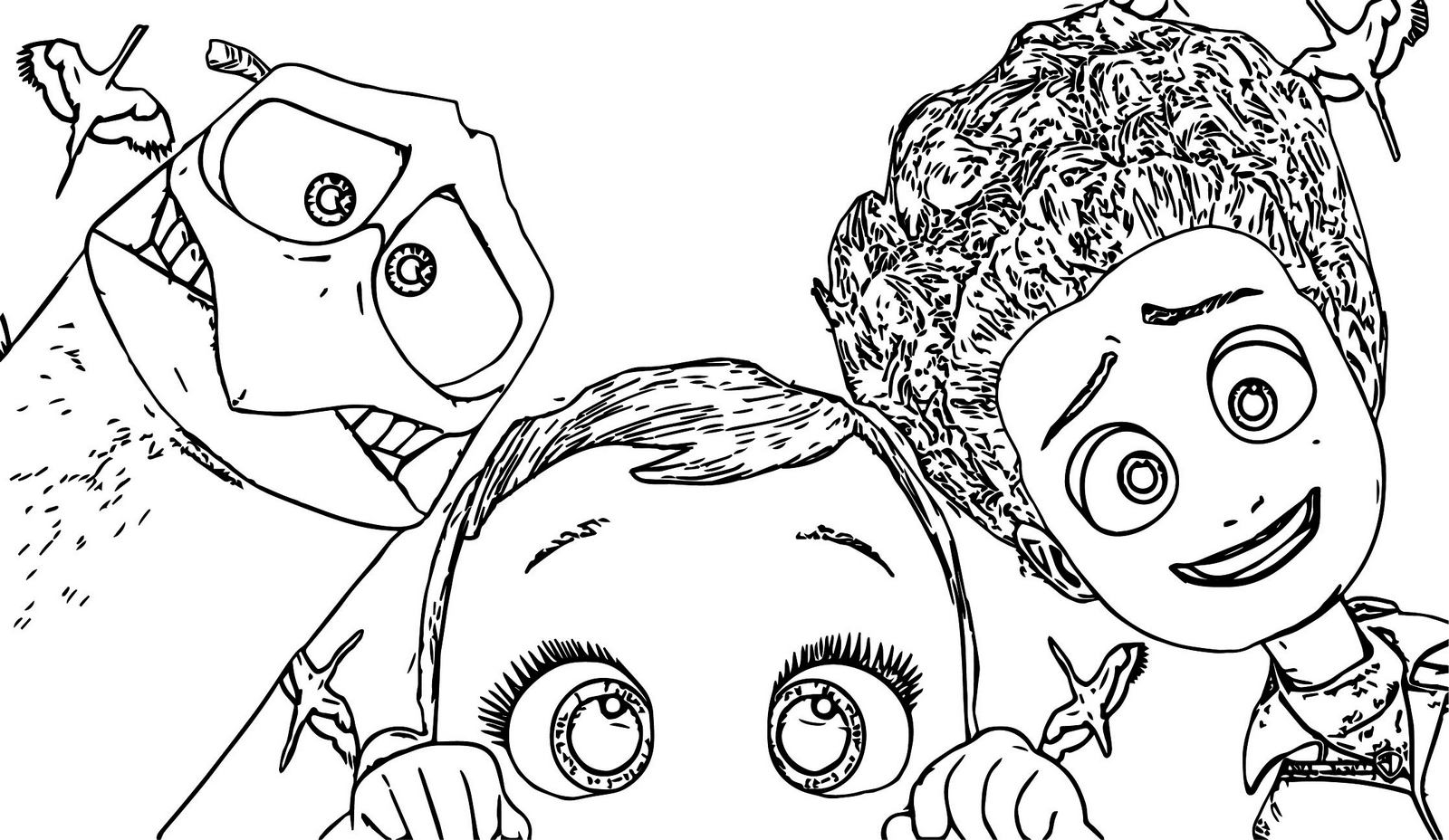 Storks Animated Comedy Film Coloring Pages
