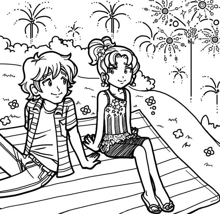 Collection Of Dork Diaries Coloring Books