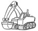 Printable Excavators Coloring Pages