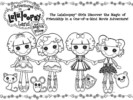 Lalaloopsy and Pet Pals Coloring Pages