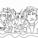 Printable Wild Kratts Coloring Pages Chris And Martin Kratts