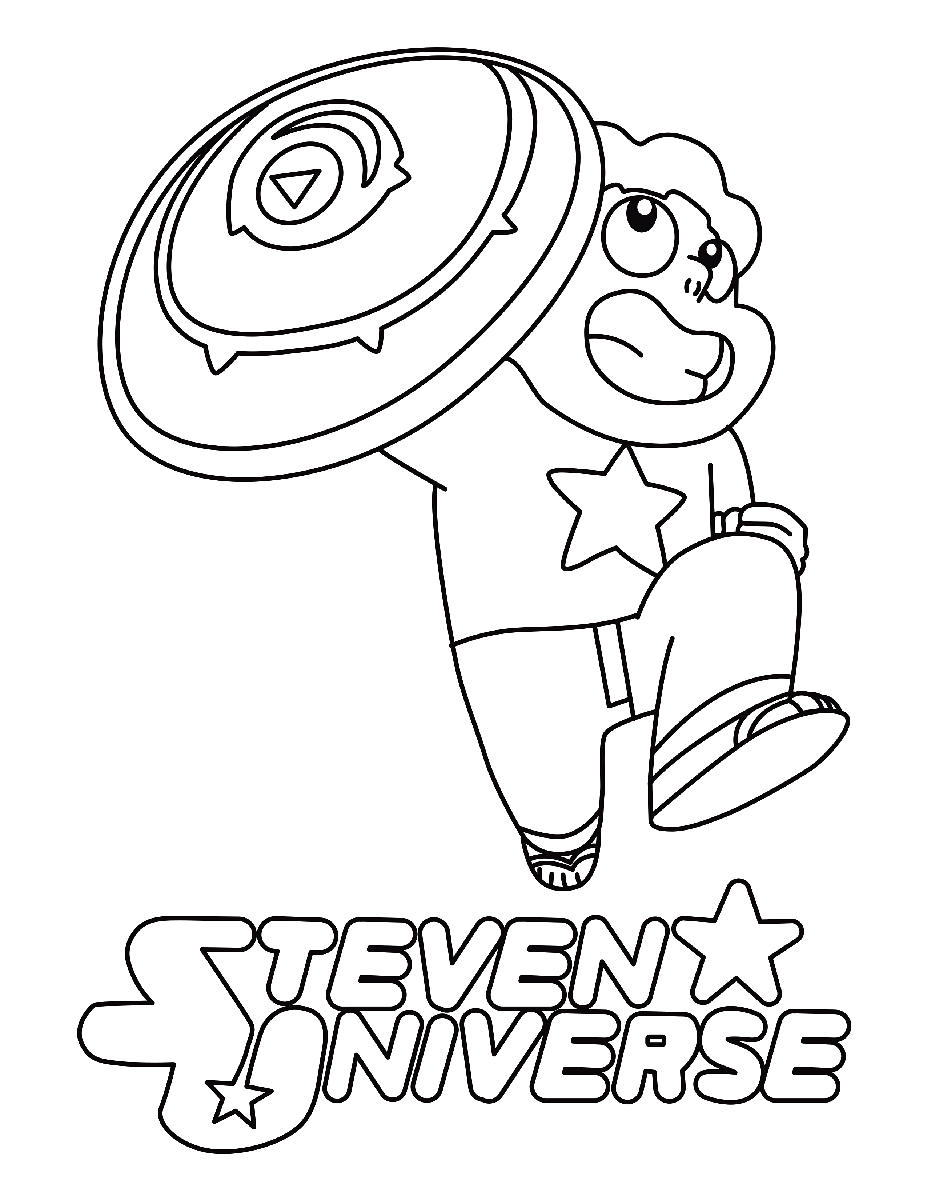 steven universe coloring sheet printable png