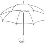 Umbrella Coloring And Activity Sheets