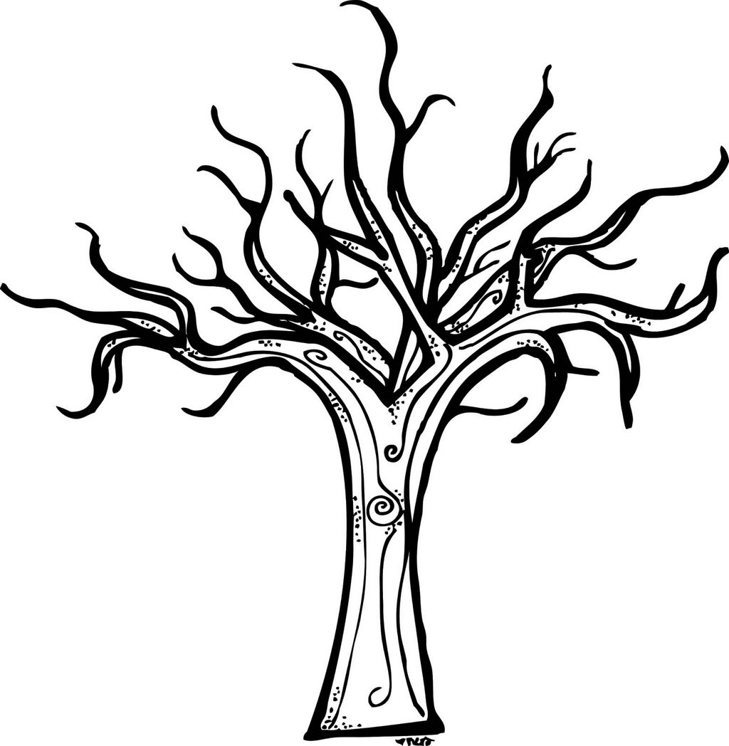 bare tree coloring pages for all ages coloring pages - Bare Tree Coloring Pages Printable