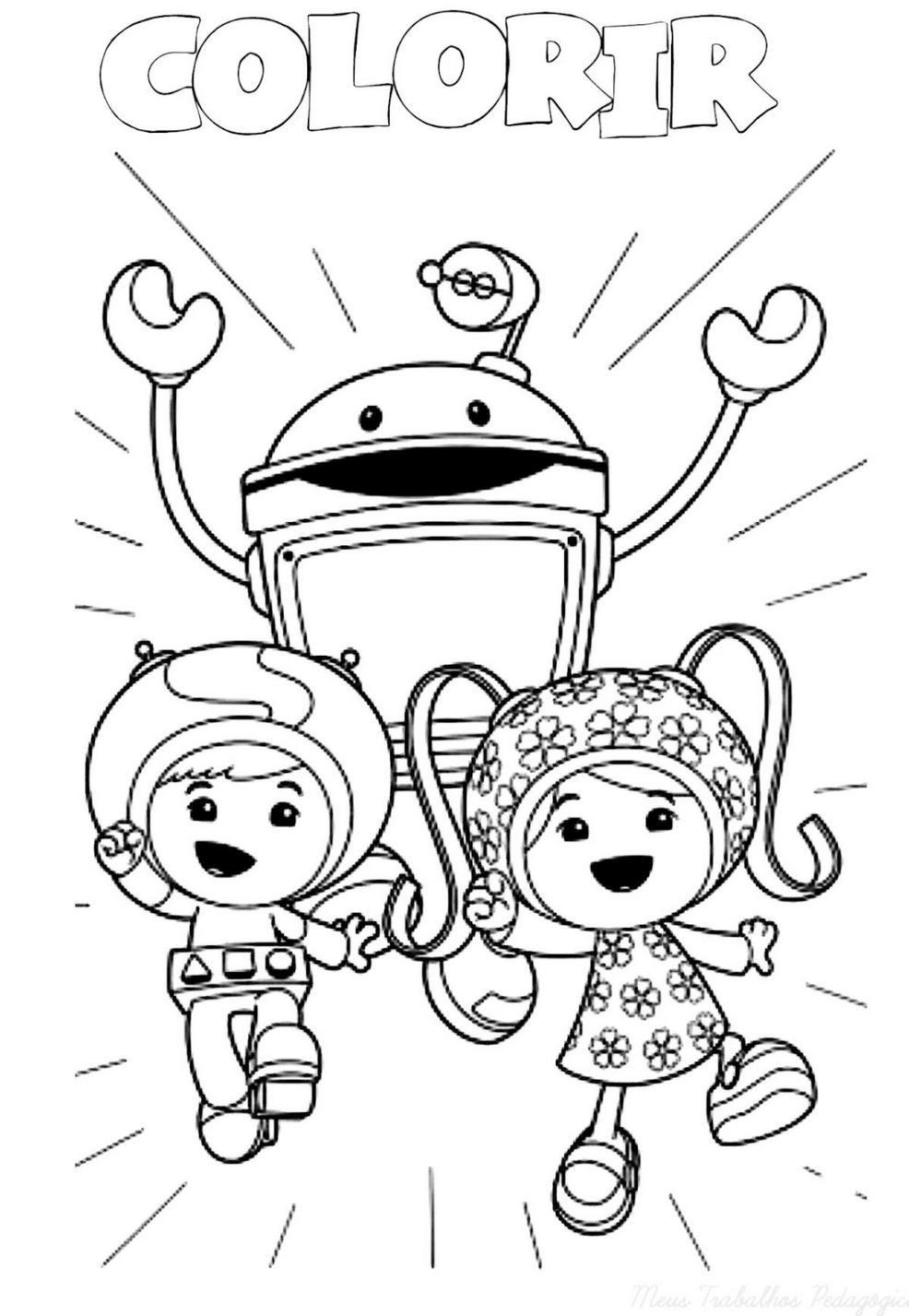 Printable Team Umizoomi Christmas