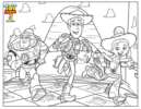 Toy Story Coloring and Activity Pages