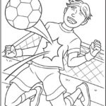 Goalkeeper Soccer Coloring Page