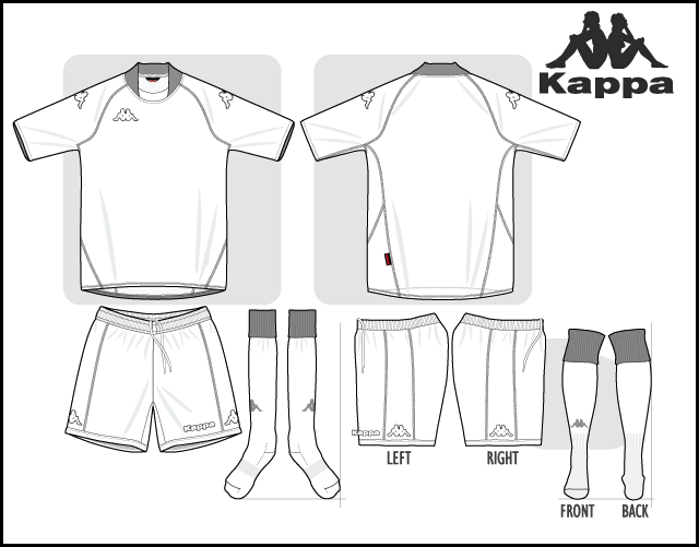 Soccer Jersey Kappa Coloring Page