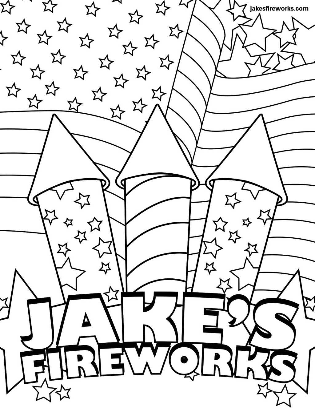 Fireworks Coloring Pages Sparkler Fireworks Coloring Pages  Coloring Pages
