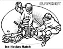 Fantastic and Super Hockey Coloring Pages