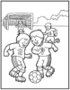 Soccer Coloring Pages for Kids to Develop their Fine Motor and Sensory Skills