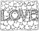 Romantic Quotes of Love Coloring Pages