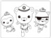 Octonauts Colouring Pictures