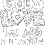 quote god is love coloring pages for kids