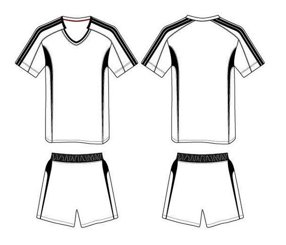 sports jersey soccer coloring and activity page