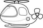 The new Super Fun Helicopter Coloring Pages For Kids And Adults