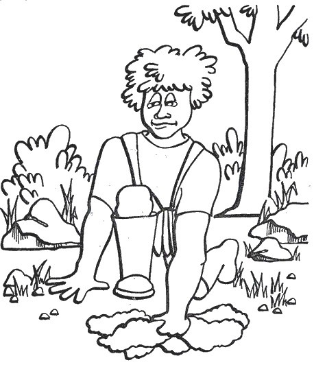 Gideon judge coloring sheet
