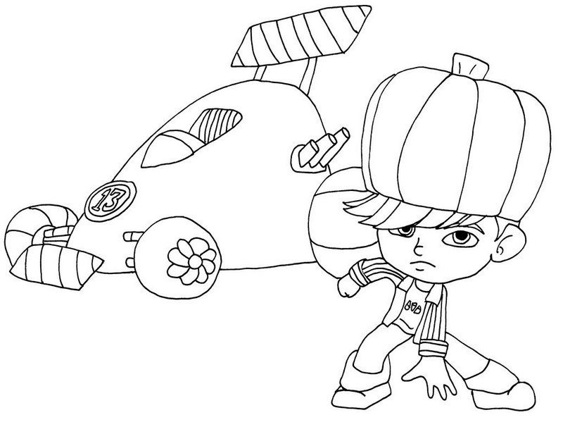 Gloyd Orangeboar Picture Wreck it Ralph Coloring Sheet