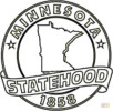 Minnesota State Symbol Coloring Pages
