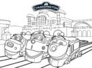 Top 9 Chuggington Coloring Pages