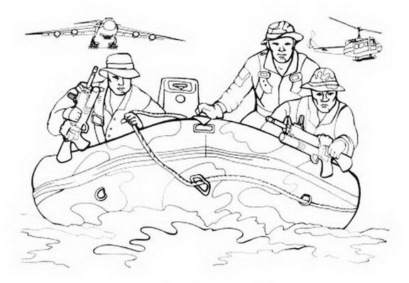 boat call of duty rescue coloring sheet