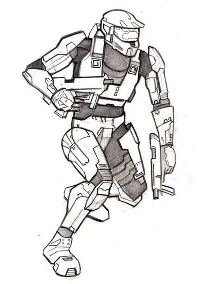 call of duty vs halo coloring sheet