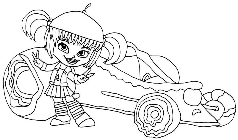 candlehead jubileena from wreck it ralph coloring sheet