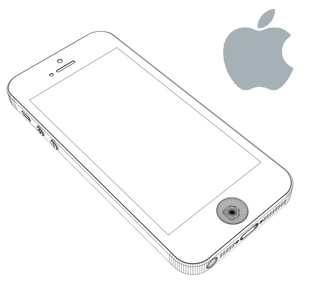 iphone 5 specifications coloring pages