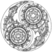 Popular Mandala Yin Yang Coloring Page Collection