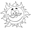 an Easy Way to Learn Colors for Kids with These Sun Coloring Pages