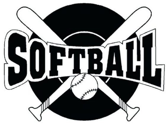 printable softball logo coloring sheets