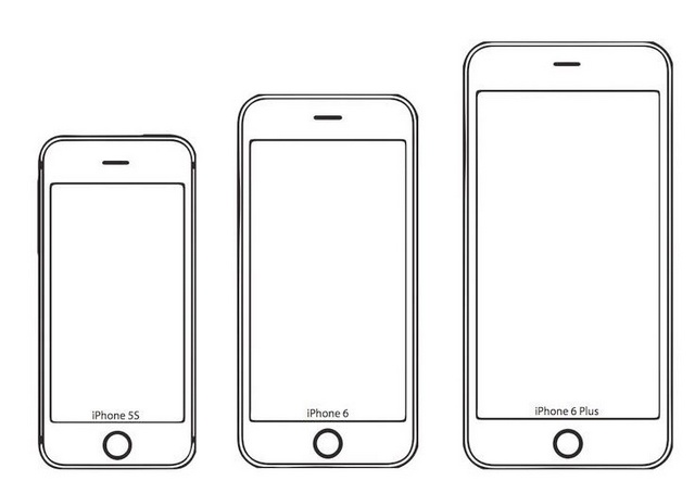 various types of iphone coloring pictures