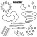Types of Weather Coloring Pages