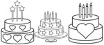 11 Best Birthday Cake Coloring Pages and Write Down What Wishes for Future