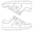 DC Shoes Design Coloring Pages