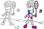 Jojo's Circus Coloring Sheets for Preschool Children