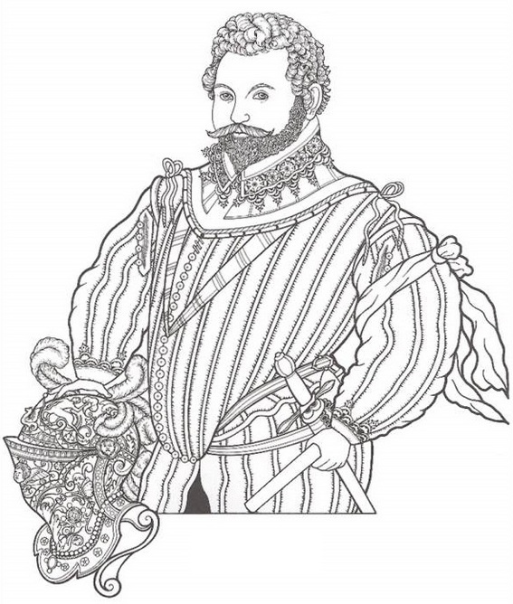Marcopolo Biography coloring pictures