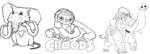 Top 5 the Croods Coloring Pages for Kids