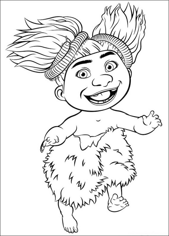 Sandy Crood Coloring Sheet Online