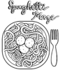 Top Dozens Spaghetti Coloring Pages for Children