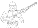 Top 8 Fierce Clone Trooper Coloring Pages for Star Wars Lovers