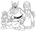 7 Fascinating Vicky the Viking Coloring Pages for 4 Years and Up