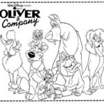 best oliver and company coloring sheets