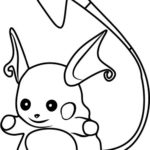 best raichu coloring pages for kids