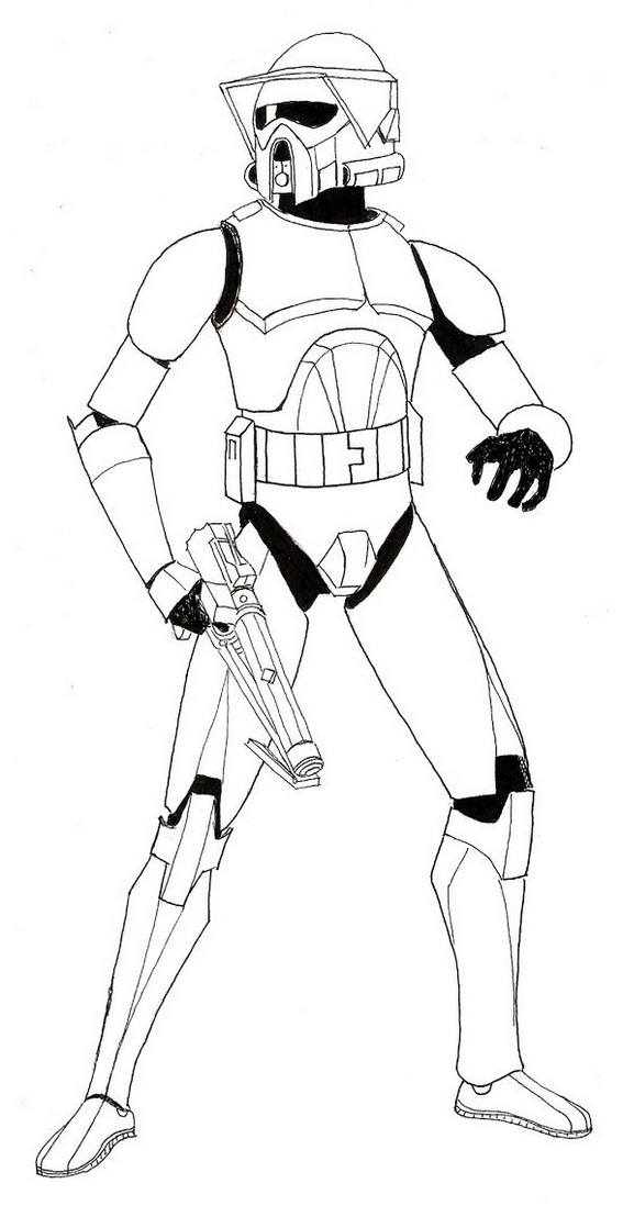 clone trooper armor coloring sheets