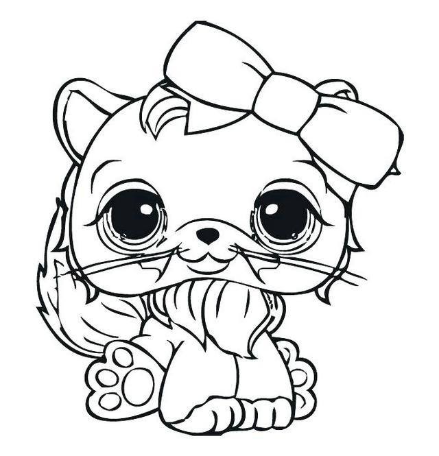 funny littlest pet shop colouring sheets