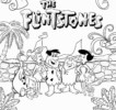 Top 9 Flintstone Coloring Pages for Little Kids