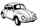Top 5 Legendary Volkswagen Beetle Car Coloring Sheets