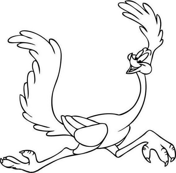 Wile E Coyote Coloring Pages - Learny Kids