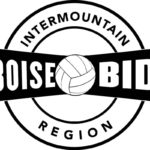 Intermountain Volleyball Association coloring and drawing page
